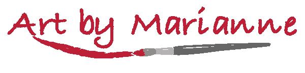 art by Marianne logo